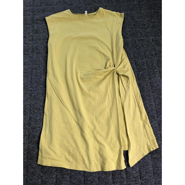 GU(ジーユー)のF様専用 GU サイドスリットチュニック キッズ/ベビー/マタニティのキッズ服女の子用(90cm~)(Tシャツ/カットソー)の商品写真