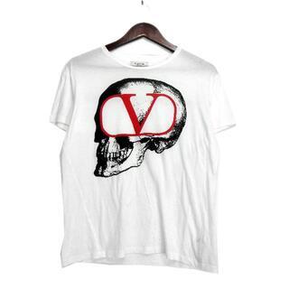 UNDERCOVER - ヴァレンティノ×アンダーカバー■19AWスカルロゴプリントTシャツ