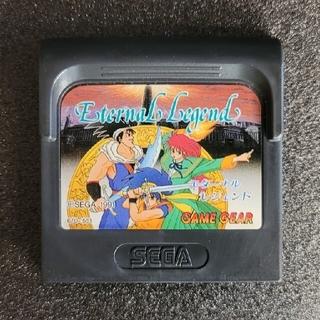 セガ(SEGA)のゲームギア エターナルレジェンド GAMEGEAR Eternal Legend(携帯用ゲームソフト)