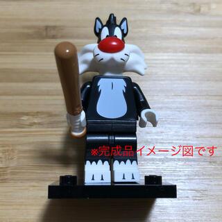 レゴ(Lego)のレゴ ミニフィギュア ルーニー・テューンズ(シルベスター・キャット)(キャラクターグッズ)