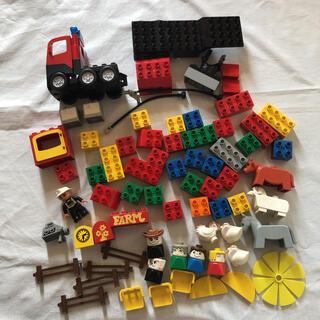 レゴ(Lego)のLEGO レゴデュプロ まとめ売り 消防車 ファーム オールド(キャラクターグッズ)