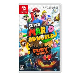 ニンテンドースイッチ(Nintendo Switch)の新品未開封スーパーマリオ 3Dワールド + フューリーワールド(携帯用ゲームソフト)