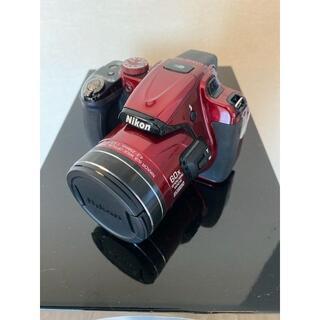 ニコン(Nikon)の美品 COOLPIX P600 レッド(コンパクトデジタルカメラ)