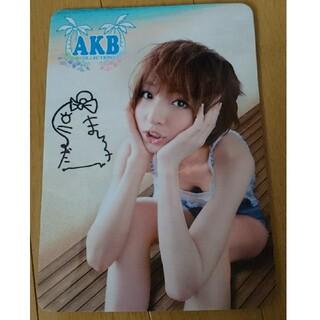エーケービーフォーティーエイト(AKB48)のAKB 篠田麻里子 マウスパッド(女性タレント)