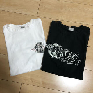 キャリー(CALEE)のCALEE プリントTシャツ 2枚組 Lサイズ(Tシャツ/カットソー(半袖/袖なし))