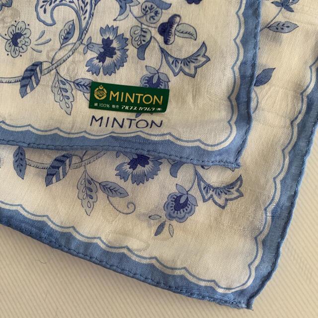 MINTON(ミントン)の☆新品☆ MINTON ミントン 大判 ハンカチ レディースのファッション小物(ハンカチ)の商品写真
