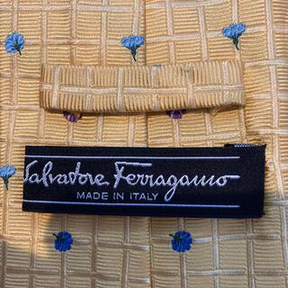 サルヴァトーレフェラガモ(Salvatore Ferragamo)のフェラガモ サルヴァトーレフェラガモ  ネクタイ 黄色(ネクタイ)