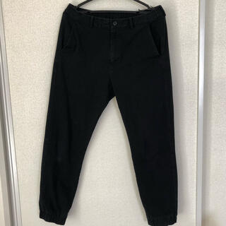 UNIQLO - メンズ ジョガーパンツ 黒  Mサイズ ユニクロ