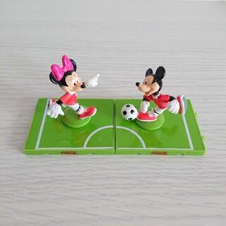 ディズニー(Disney)のディズニー ミニ フィギュア サッカー(キャラクターグッズ)