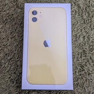 iPhone - iPhone11 64GB Yellow SIMフリー 新品未開封
