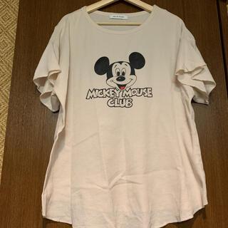 アズールバイマウジー(AZUL by moussy)のAZULT BY MOUSSY   ワッフル Tシャツ   mサイズ(Tシャツ(半袖/袖なし))