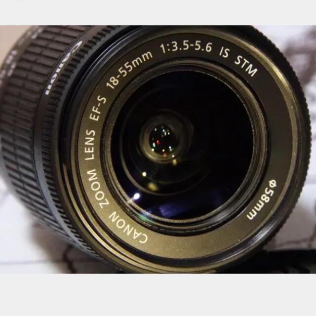 Canon(キヤノン)のCanon EF-S18-55F3.5-5.6 IS STM  スマホ/家電/カメラのカメラ(レンズ(ズーム))の商品写真