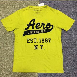 エアロポステール(AEROPOSTALE)のS サイズ AEROPOSTALE エアロポステール 新品未着用 黄緑/紺(Tシャツ/カットソー(半袖/袖なし))