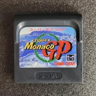 セガ(SEGA)のスーパーモナコGP Super Monaco GP ゲームギア GAMEGEAR(携帯用ゲームソフト)