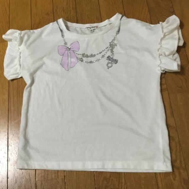anyFAM(エニィファム)のanyFAM Tシャツ 140サイズ キッズ/ベビー/マタニティのキッズ服女の子用(90cm~)(Tシャツ/カットソー)の商品写真