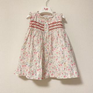 ボンポワン(Bonpoint)のamaia kids⭐︎美品Hydrangea Dress 2y(ワンピース)