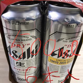 アサヒ - アサヒス-パードライ500mlx6缶