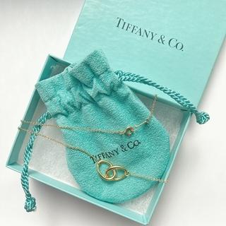 Tiffany & Co. - 【Tiffany&Co.】ティファニー K18YG ダブルループ ネックレス