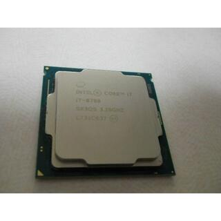 CPU Intel Core i7 8700 3.2GHz と 虎徹MarkII