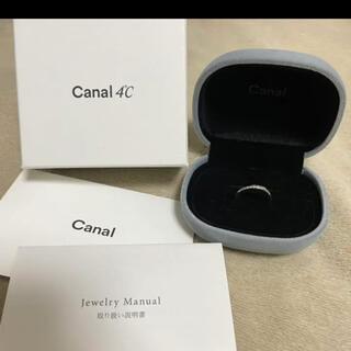 カナルヨンドシー(canal4℃)のカナル4℃ ダイヤモンドリング(リング(指輪))