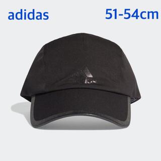 アディダス(adidas)のadidas アディダス ランニングキャップ UVカット ブラック 子供用(帽子)
