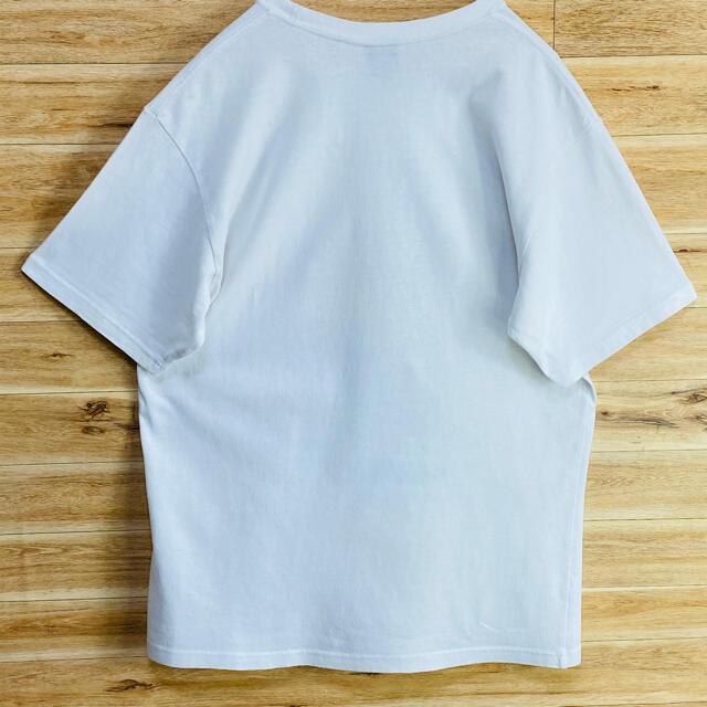 STUSSY(ステューシー)の【状態良好】stussy OLDステューシーtシャツ半袖Mホワイト白SSリンク メンズのトップス(Tシャツ/カットソー(七分/長袖))の商品写真