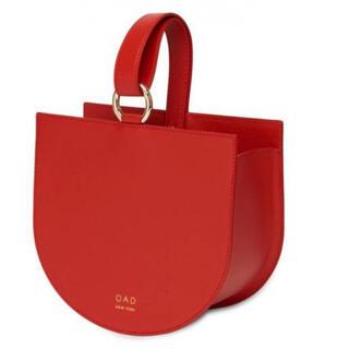 IENA - 新品oad new york本革レザーワンハンドルバッグ赤レッド