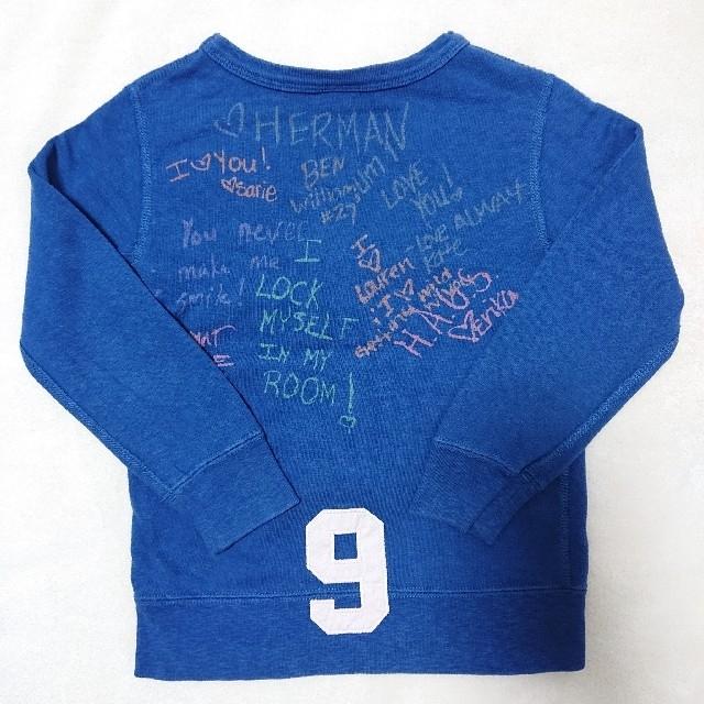 DENIM DUNGAREE(デニムダンガリー)の385. DENIM DUNGAREE スウェット 120 キッズ/ベビー/マタニティのキッズ服男の子用(90cm~)(Tシャツ/カットソー)の商品写真