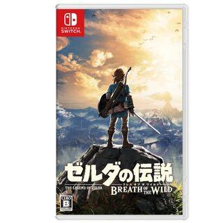 ニンテンドースイッチ(Nintendo Switch)の新品未開封ゼルダの伝説 ブレス オブ ザ ワイルド(携帯用ゲームソフト)