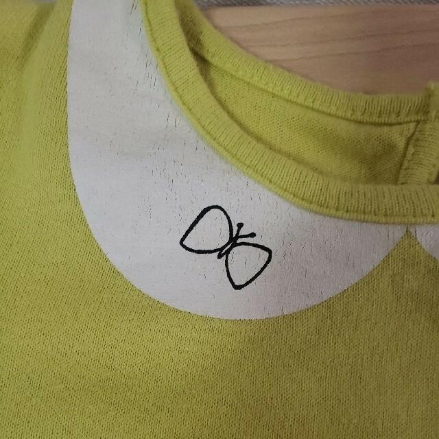 Petit jam(プチジャム)の【110】プチジャム カットソー ライム キッズ/ベビー/マタニティのキッズ服女の子用(90cm~)(Tシャツ/カットソー)の商品写真