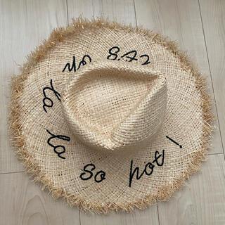 ザラ(ZARA)のZARA 麦わら帽子(麦わら帽子/ストローハット)