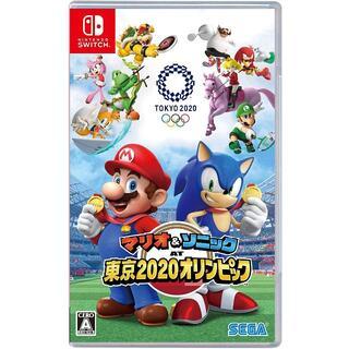 ニンテンドースイッチ(Nintendo Switch)の新品未開封マリオ&ソニック AT 東京2020オリンピック(携帯用ゲームソフト)