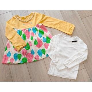 100cmシャツ、110cmチュニック(Tシャツ/カットソー)