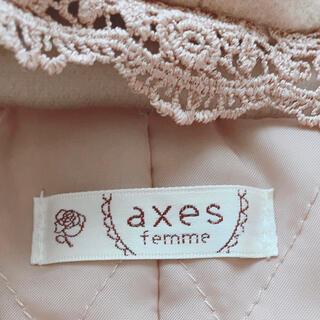 アクシーズファム(axes femme)のaxes ベージュコート(その他)
