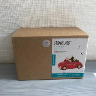 PEANUTS SNOOPY MUSIC BOX スヌーピー オルゴール