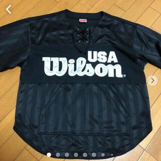 wilson - WILSON デカロゴジャージ M