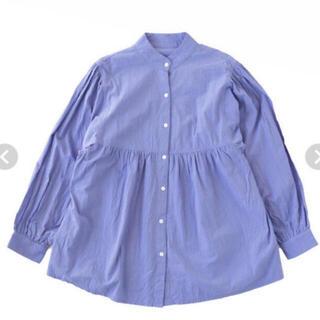 SeaRoomlynn - Searoomlynn コットンWASHギャザーシャツ