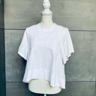 クロエ(Chloe)のChloe 立体刺繍Tシャツ (Tシャツ(半袖/袖なし))