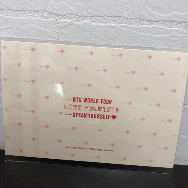 防弾少年団(BTS)(ボウダンショウネンダン)のbts weverse 特典 ポストカード lys  sys  エンタメ/ホビーのCD(K-POP/アジア)の商品写真