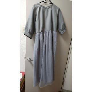 メルロー(merlot)のmerlot plus ワンピース ドレス(ロングワンピース/マキシワンピース)