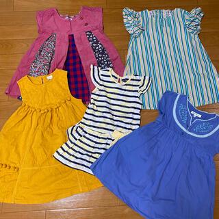ラグマート(RAG MART)の3歳、4歳女の子 夏服 10枚セット サイズ100㎝前後(ワンピース)
