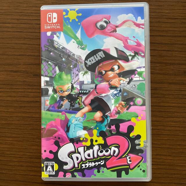 Nintendo Switch(ニンテンドースイッチ)のスプラトゥーン2 エンタメ/ホビーのゲームソフト/ゲーム機本体(家庭用ゲームソフト)の商品写真