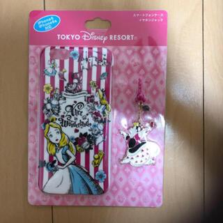 ディズニー(Disney)のiPhoneケース(不思議の国のアリス)(iPhoneケース)