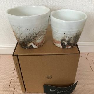 maori  フリーカップ 粉引き 2個