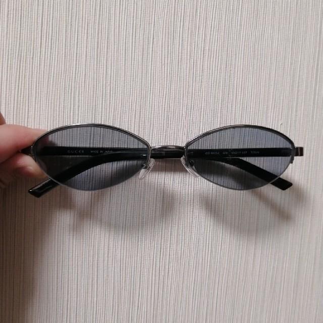 Gucci(グッチ)のgucci サングラス 青 ヴィンテージ メンズのファッション小物(サングラス/メガネ)の商品写真