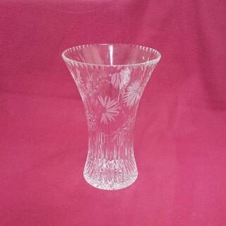 クリスタルガラス  花瓶(花瓶)
