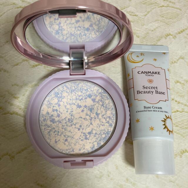 CANMAKE(キャンメイク)のキャンメイク ベース+パウダーのセット コスメ/美容のベースメイク/化粧品(フェイスパウダー)の商品写真
