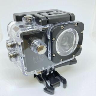 【スプリングセール】2021年最新型!アクションカメラ !ブラック!防水(コンパクトデジタルカメラ)