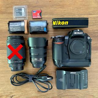 ニコン(Nikon)の[美品] Nikon D2X ショット数約16,000回 ニコン(デジタル一眼)