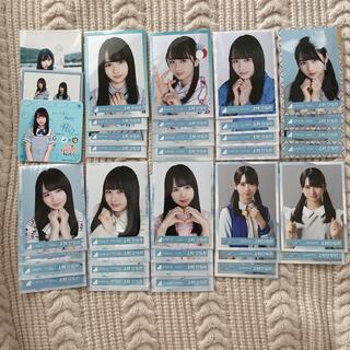 ケヤキザカフォーティーシックス(欅坂46(けやき坂46))の日向坂46 上村ひなの 生写真 まとめ売り 48枚(アイドルグッズ)